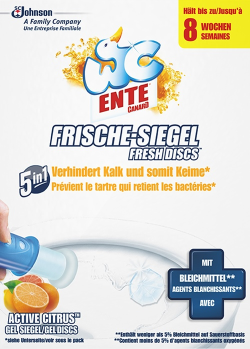 WC-Ente® Frische Siegel Original Active Citrus