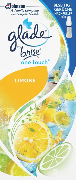 Glade by Brise® One Touch Minispray Nachfüller Limone