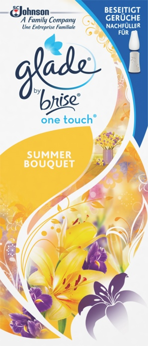 Glade by Brise® One Touch Minispray Nachfüller Summer Bouquet