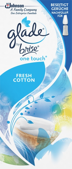 Glade by Brise® One Touch Minispray Nachfüller Fresh Cotton