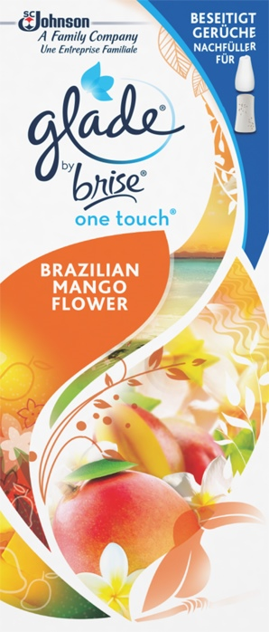 Glade by Brise® One Touch Minispray Nachfüller Brazilian Mango Flower