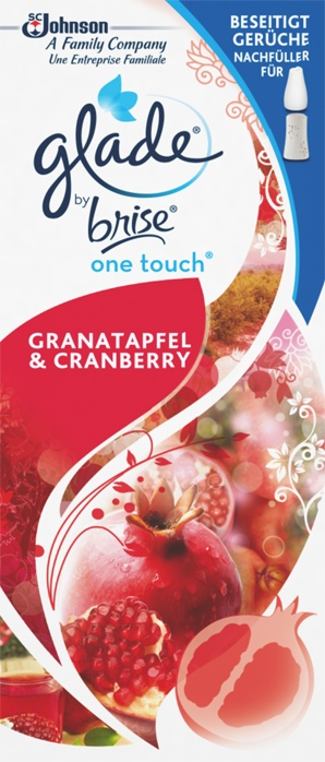 Glade by Brise® One Touch Minispray Nachfüller Granatapfel & Cranberry