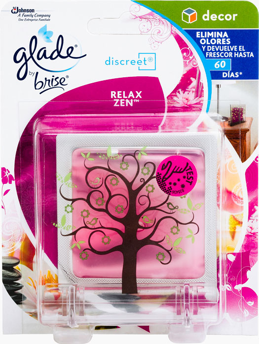Glade® by Brise® Discreet® Decor Relax Zen™