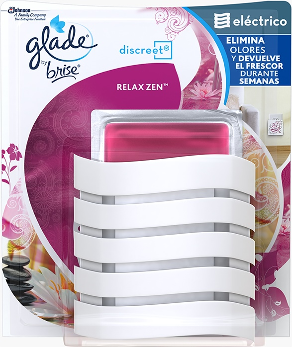 Glade® by Brise® Discreet® Aparato Relax Zen™