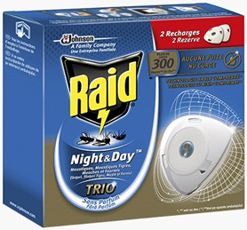 Raid® Night&Day™ Trio Double Recharges