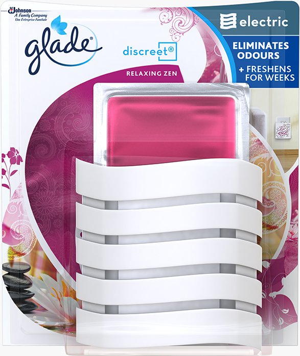 Glade® Discreet Electric Holder Relaxing Zen