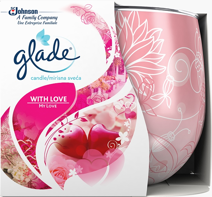 Glade® Candle With Love