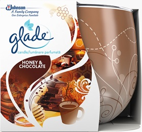 Glade® Candle Honey & Chocolate