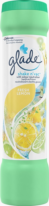 Glade® Shake'n Vac Fresh Lemon