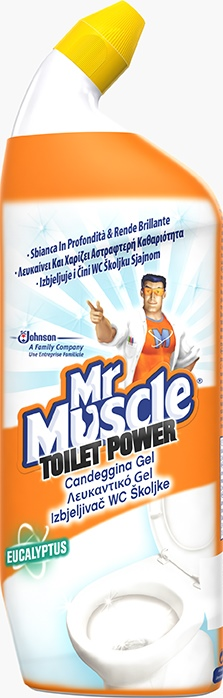 Mr Muscle® Toilet Power - Λευkaντικο Gel