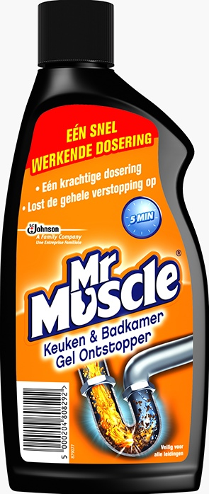 Mr Muscle® Power Gel Ontstopper