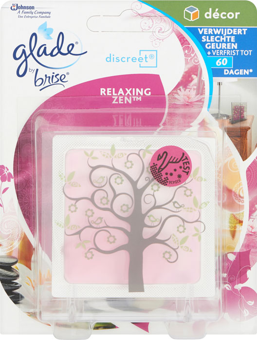 Glade® By Brise® Discreet® Decor Houder Relaxing-Zen™