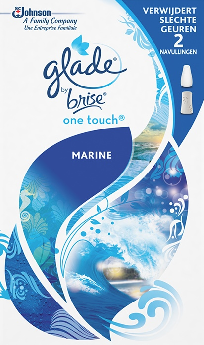 Glade® By Brise® One Touch® Navul Marine