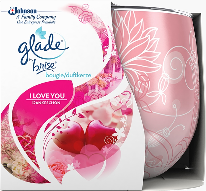 Glade® By Brise® Kaars I Love You