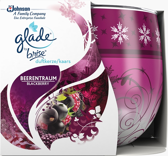 Glade® By Brise® Kaars Blackberry