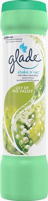 Glade® Shake N' Vac™ Tapijtverfrisser Lily of the Valley (Stopgezet)