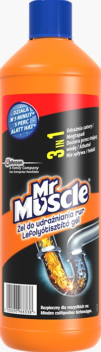 Mr Muscle®  Żel Do Udrażniania Rur 1000 ml