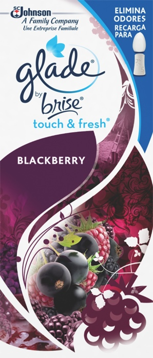 Glade® Touch&Fresh® Recarga Blackberry (Interrompido)