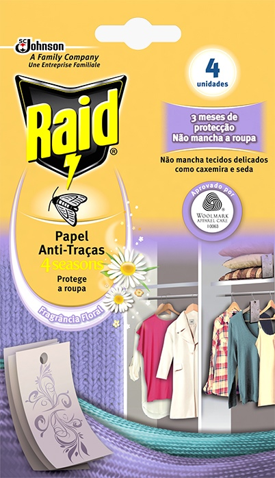 Raid® Active Paper Anti-Molii