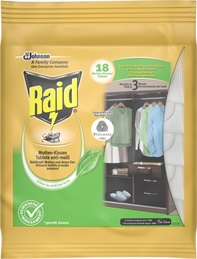 Raid® Anti-Molii Tablete Green Tea