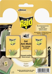 Raid® Anti-Molii Gel Cedru