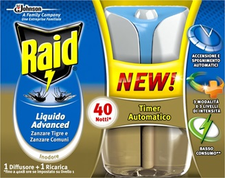 Raid® Advanced Electric Lichid  Aparat