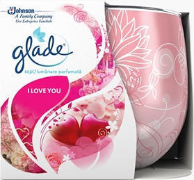 Glade® Lumânare parfumată I Love You