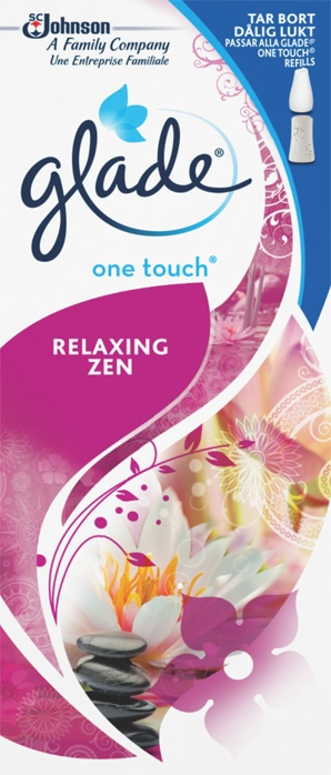 Glade® One Touch® Relaxing Zen Refill