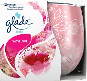 Glade® Doftljus With Love