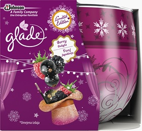 Glade® Sviečka Berry Delight