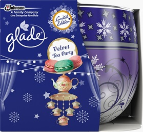 Glade® Sviečka Velvet Tea Party