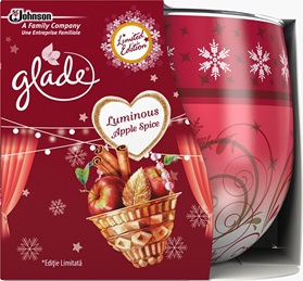 Glade® Sviečka Luminous Apple Spice