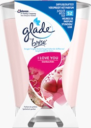 Glade® by Brise® Premium-Duftkerze I Love You