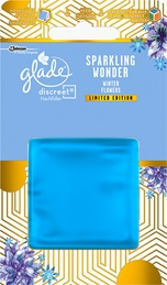 Glade® Discreet® Nachfüller Sprakling Wonder Winter Flowers