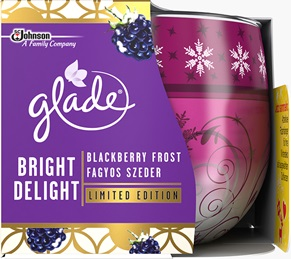 Glade® Duftkerze Enchanting Dreams Honey & Chocolate