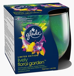 Glade® Kaars - Lively floral garden - Pear, gardenia, fresh leaves