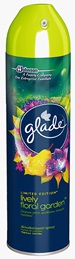 Glade® Spray - Lively floral garden - Pear, gardenia, fresh leaves