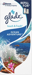Glade® Touch&Fresh™ Пълнител - Ocean Adventure