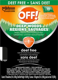 OFF!® Regions Sauvages® Sachet - Sans Deet