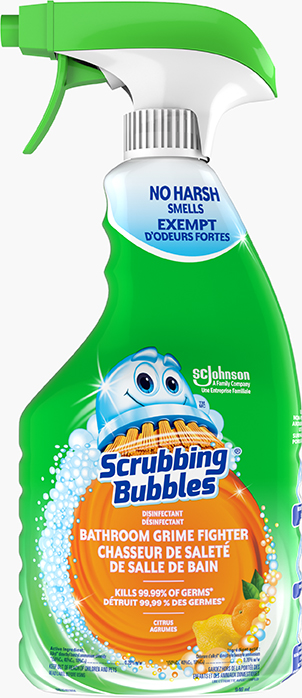 Scrubbing Bubbles® Disinfectant Bathroom Grime Fighter Trigger (Citrus)