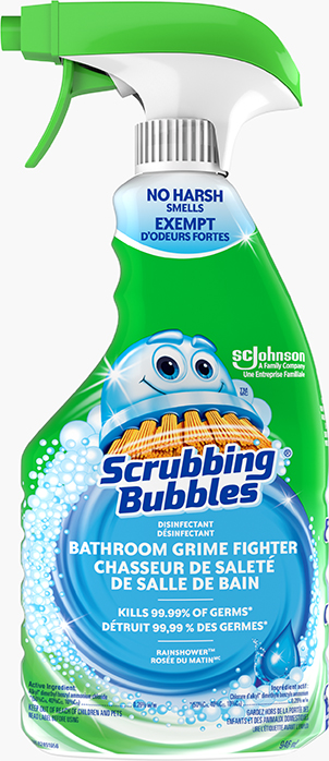 Scrubbing Bubbles® Disinfectant Bathroom Grime Fighter Trigger (Rainshower)