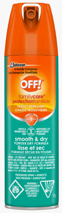 OFF!® Family Care® Insect Repellent Smooth & Dry