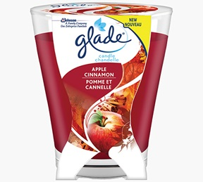 Glade® Apple Cinnamon Large Candle