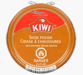 KIWI® Shoe Polish - Mid Brown