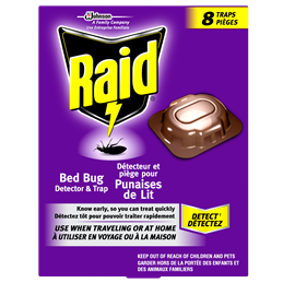 RAID® BED BUG DETECTOR & TRAP