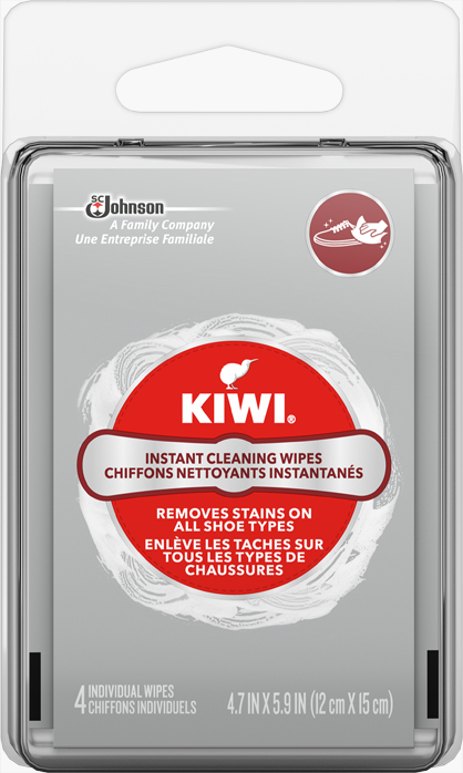KIWI® Instant Cleaning Wipes