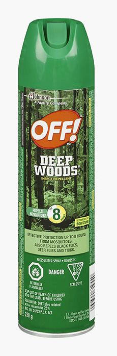 OFF!® Deep Woods® 3 Insect Repellent