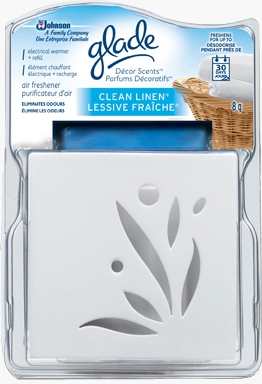 Décor Scents™ Electric Warmer and Refill - Clean Linen®