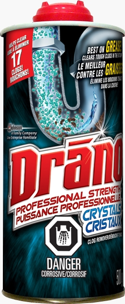 Drano® Professional Strength Crystals Clog Remover (Discontinued)