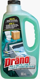 Drano® Pipe & Septic Care Build-Up Remover
